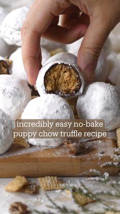 Christmas Treats, Christmas Baking, Christmas Candy, Fun Baking Recipes, Cooking Recipes, No Bake Desserts, Dessert Recipes, Cake Pops, How Sweet Eats