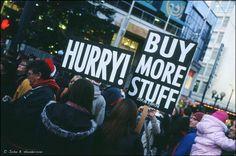 Kuvittele maailma ilman konsumerismia