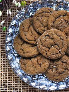 My Own Sweet Thyme: Spicy Molasses Crinkles