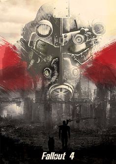 Fallout 4 game poster fallout artwork print by Lautstarke on Etsy