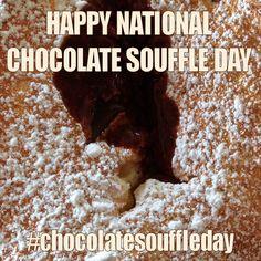 February 28, 2015 - National Chocolate Soufflé Day