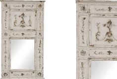 Large Wood Framed Wall Mirror   Decorative Wall Mirrors