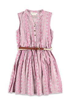 Pintucked Tribal Print Dress (Kids) | Forever 21 girls | #f21kids
