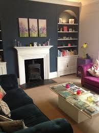 Farrow and Ball Living Room Idea Lovely Farrow & Ball Stiffkey Blue Quentin Home Living Room, Farrow And Ball Living Room, Living Room Color, Living Room Paint, Room Interior, New Living Room, Living Room Diy, Trendy Living Rooms, Victorian Living Room