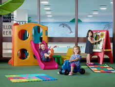 Image result for childrens play area in a restaurant