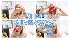 100 Yen Store Japanese Souvenir Haul (+June Giveaway) - 100円ショップで買った日本のお...