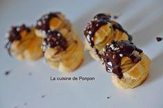 Profiteroles à la crème de ricoré - La cuisine de Ponpon: rapide et facile!