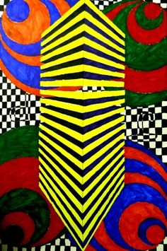 OP Art and Perspective Drawing