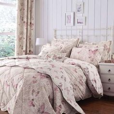 Blush Botanica Butterfly Bed Linen Collection