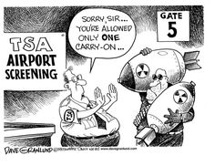 The TSA allowed 25 ILLEGAL aliens to train at a flight school near Boston, OWNED by another illegal alien. So the next time the TSA cracks down on you for carrying more than three ounces of liquid, pretend you don't speak ENGLISH! Aviation Technology, Aviation Humor, Personal Jet, Discount Cruises, Air Charter, Airport Security, Travel Companies, Carry On Bag, Funny Cartoons