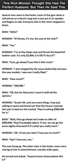 This woman thought she had the perfect husband until he said this funny quotes marriage jokes lol humor