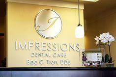 dental office logos | Impressions Dental Care Office Tour