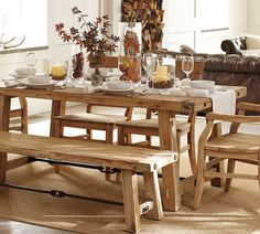HOW TO BUILD A FARMHOUSE TABLE | FARMHOUSE TABLE | PERFECTLY IMPERFECT