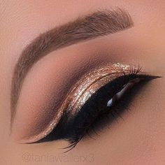 Cool winged cut crease makeup | ko-te.com by @evatornado |
