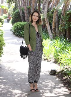 How To Style A Printed Jumpsuit - Louise Roe street style - Front Roe fashion blog 1