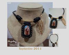 Angeles Vera Bisutería: ESPECIAL ESCAPULARIOS Jewelry, Fashion, Lighten Hair, Religious Jewelry, Moustaches, Necklaces, Accessories, Moda, Jewlery