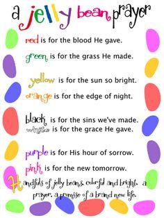 Jelly Bean Prayer Macaroni Kid Jellybean Easter Activities Sunday School