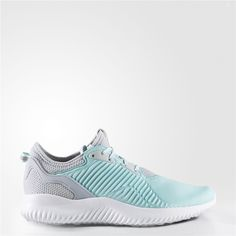 new product 4fdcc 773a5 Adidas Alphabounce Lux Shoes (Clear Aqua   Running White Ftw   Clear Grey)  Adidas