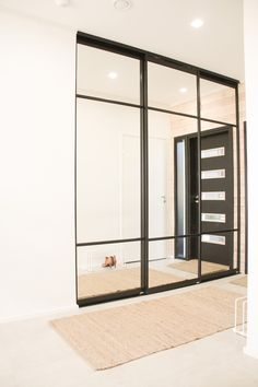 Scandinavian Style, Sliding Doors, Entrance, Divider, Interior Design, Mirror, Stylish, Room, Closet
