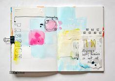 SODAlicious: No26 ► art journal 'Passion'