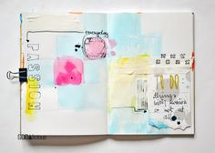 SODAlicious: No26 ► art journal 'Passion'