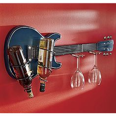 Guitar Wine Bottle Rack from Seventh Avenue ®