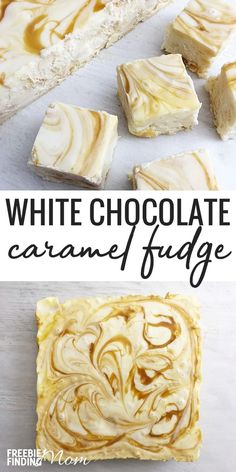 White Holiday Fudge Recipe: White Chocolate Caramel Fudge Recipe Want to try a white holiday fudge recipe that will knock your socks off? This easy, no bake White Chocolate Caramel Fudge recipe requires just 7 ingredients and about a half hour to whip up. Candy Recipes, Sweet Recipes, Holiday Recipes, Holiday Desserts, Holiday Foods, Cool Recipes, No Bake Recipes, Christmas Sweets Recipes, Holiday Dinner