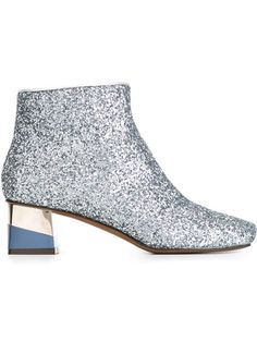 These L'Autre Chose glitter booties are the perfect shoe for the festive season http://bit.ly/1Py11uT