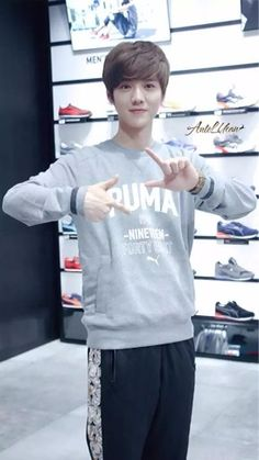 Luhan for puma event in shanghai