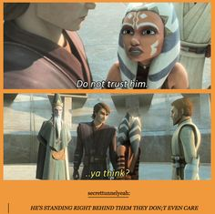 If there's one thing I've never understood about Clone Wars, it's this.