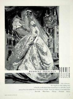 Vintage Outfits, Vintage Fashion, Dress Vintage, Vintage Wedding Photography, Vintage Bridal, Vintage Weddings, Lace Decor, Bridal Salon, Vintage Advertisements