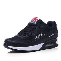 a7d3867c15722 great OUOUVALLEY Fashion Platform Shoes Women s Casual Sport Shoe Workout  Shoes