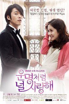 Fated To Love You (2008) 24 episodes. Male lead Jang Hyuk and female lead Jang Na-ra.  meek girl