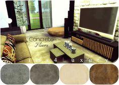 Sims4Luxury: Concrete floors
