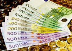 Euros. Currently is $1.38