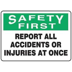 Accuform Signs Safety Reminder Sign