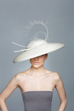 Silvia Fletcher for Lock & Co Hatters SS 2014 | Whipped Cream