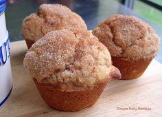 mmm cinnamon sugar muffins