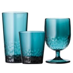 Threshold™ Textured Drinkware Collection - Teal (starts at $19.99)