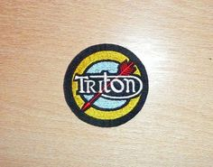 CLASSIC TRITON SEW ON EMBROIDERED PATCH-NORTON/TRIUMPH