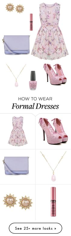 """""""Formal"""" by fashionista-diva-983 on Polyvore featuring мода, Isaac Mizrahi, Carolee, White House Black Market, OPI и NYX"""
