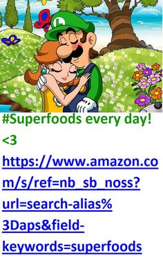 #Superfoods every day! <3 https://www.amazon.com/s/ref=nb_sb_noss?url=search-alias%3Daps&field-keywords=superfoods