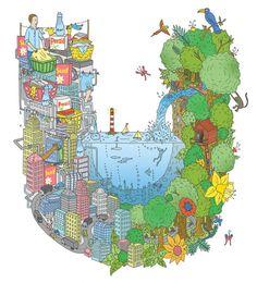 Adam Hayes Eco Illustration