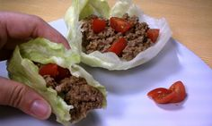 Cheeseburger Lettuce Wraps...LOVE this idea.  I will probably use American Cheese because I am a plain Jane when it comes to cheese.  I will DEFINITELY be making this little guys.  Enjoy :  )