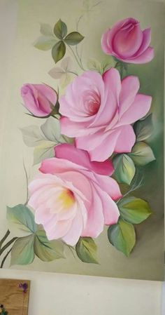 What is Your Painting Style? How do you find your own painting style? What is your painting style? China Painting, Tole Painting, Fabric Painting, Painting & Drawing, Image Painting, Flower Crown Drawing, Flower Art, Fabric Paint Designs, One Stroke Painting