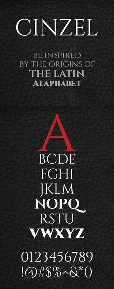 Cinzel Free Font
