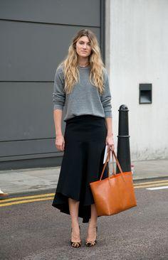 Looks de street style para llevar a la oficina | Galería de fotos 9 de 124 | VOGUE