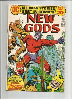 NEW GODS #10 (V1): Bronze Age Grade 9.4 Find Featuring Mantis and The Bug Army!!  http://www.ebay.com/itm/NEW-GODS-10-V1-Bronze-Age-Grade-9-4-Find-Featuring-Mantis-and-Bug-Army-/291558550075?roken=cUgayN&soutkn=bldyjK