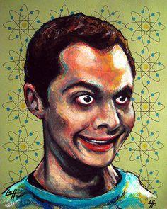 18.) <em>The Big Bang Theory</em> Print - $17