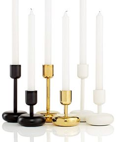 I discovered this Iittala Lighting, Nappula Candleholder Collection - Candles & Home Fragrance - for the home - Macy's on Keep. View it now.